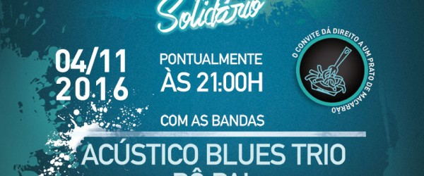 Noite do Blues Solidário!